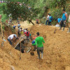 Ocho muertos deja derrumbe de tierra en El Tambo