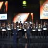 Caucano recibió premio 'Andrés Bello'
