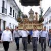 Procesión atípica de Domingo de Ramos