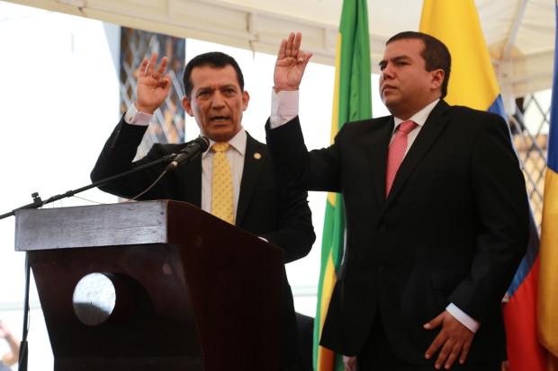 Oscar Rodrigo Campo Hurtado, tomó posesión como Gobernador del Cauca 2016-2019.