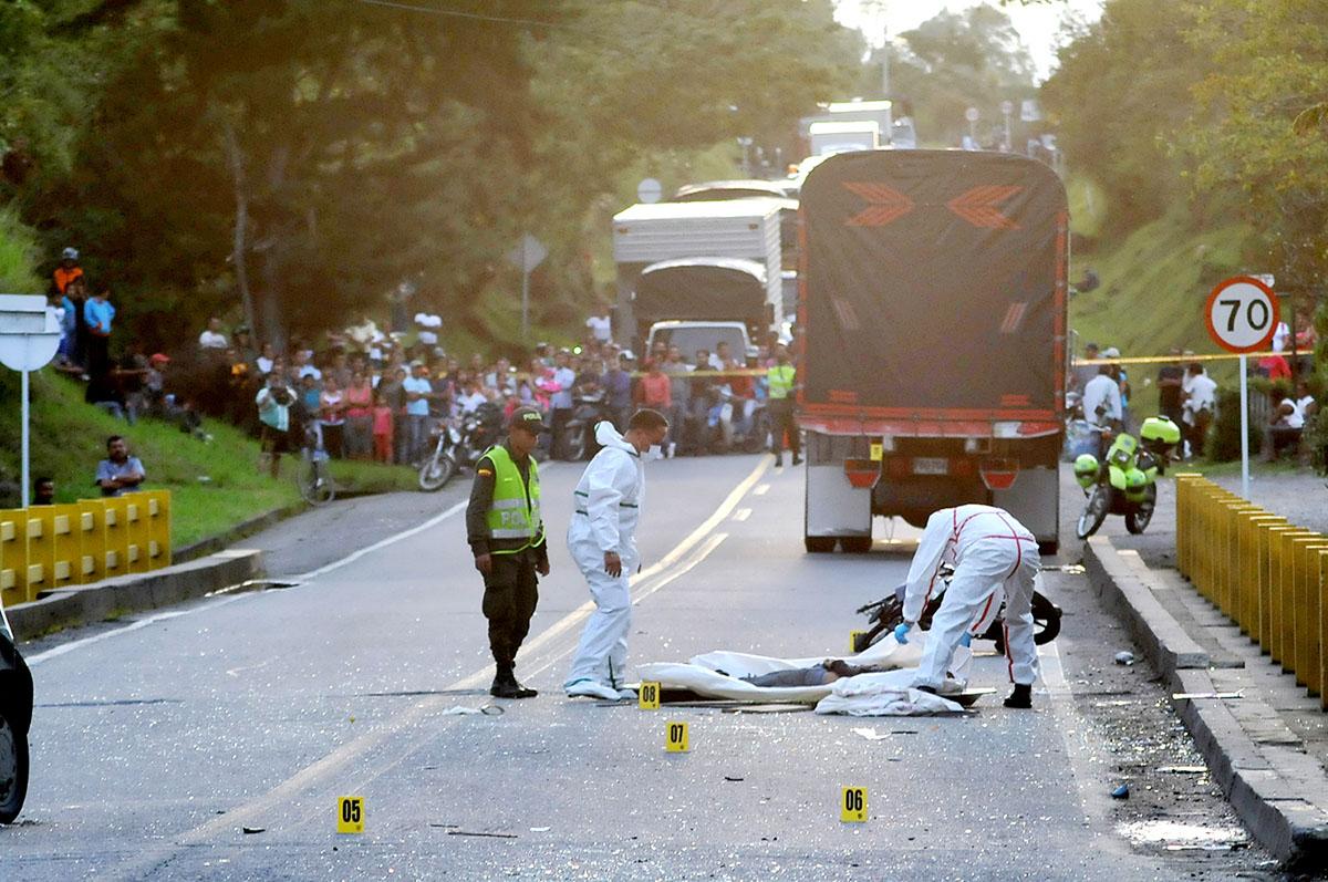 Los accidentes del mes de enero han cobrado la vida de varios motociclistas en las carreteras del Cauca, al parecer debido al exceso de velocidad. / Fotos archivo – El Nuevo Liberal.