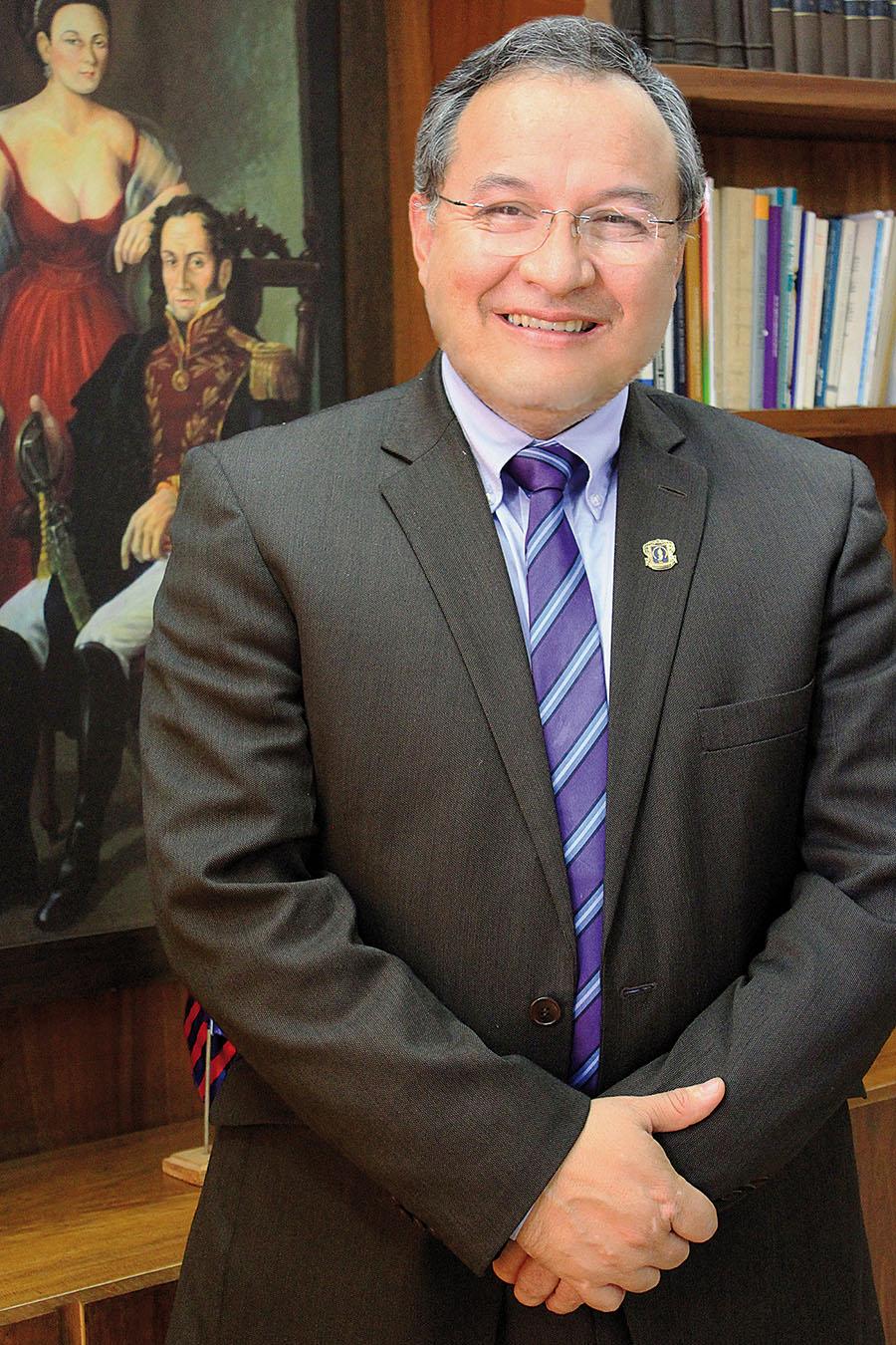 Juan Diego Castrillón Orrego, rector Universidad del Cauca y representante Sector Académico al Consejo Nacional de Paz.