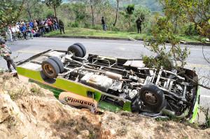 El servicio público también se ha visto involucrado en accidentes fatales para los pasajeros que transitan las vías del departamento.