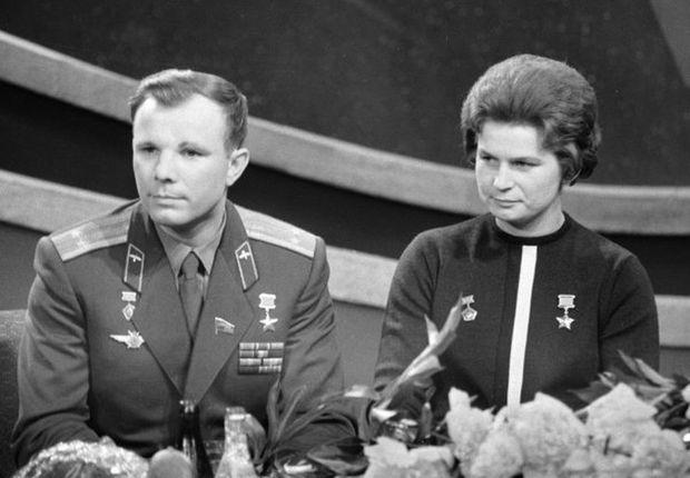 """""""¡Vamos!"""", palabras de Yuri Gagarin al iniciar su viaje al espacio."""