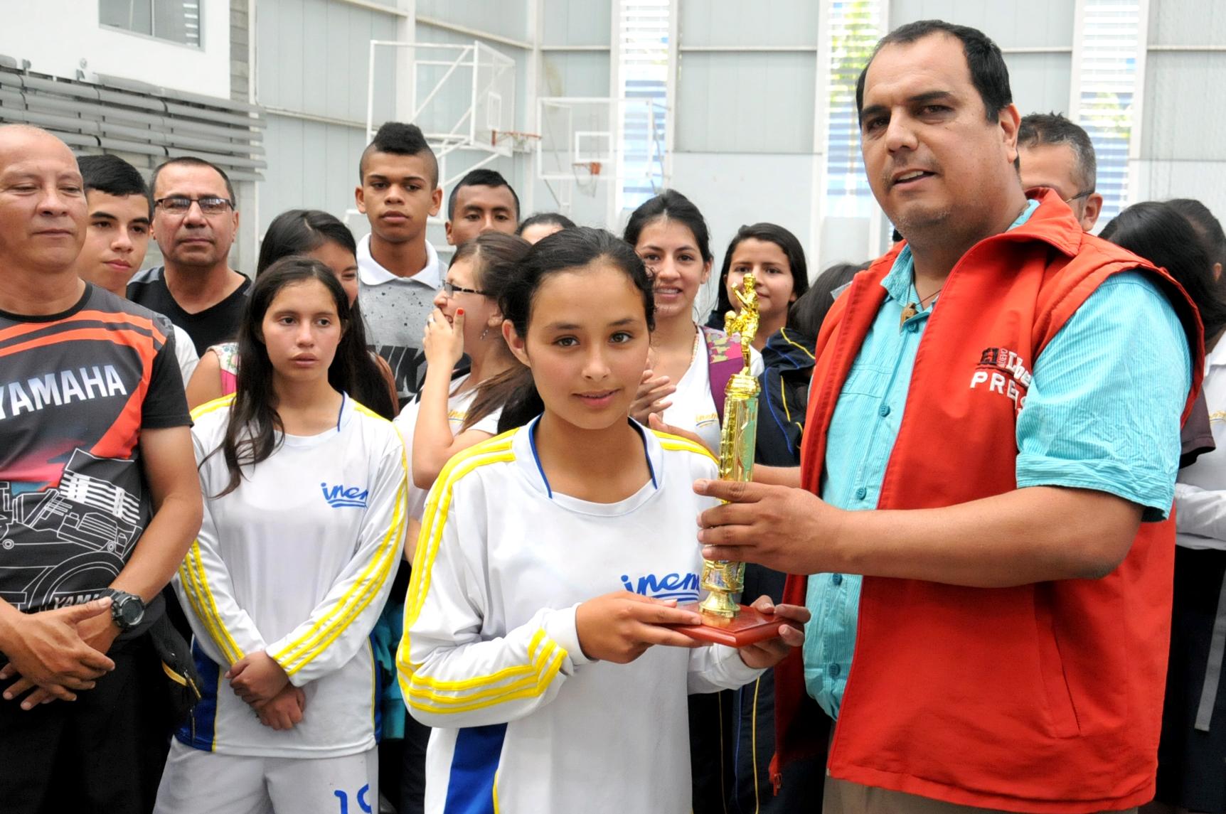 Jazbleidy Papamija fue considerada la mejor jugadora de la Copa.