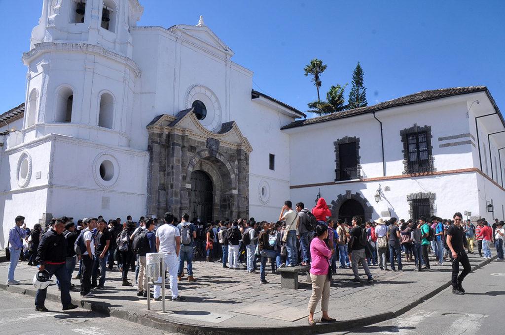 En el Cauca, hay alrededor de 14 mil estudiantes matriculados en las universidades privadas y se estima un número similar en la Universidad del Cauca. /Fotografías: El Nuevo Liberal.