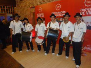 En el 2013 Jorge sustentó su trabajo de grado en el Polideportivo de Tunía con la Chirimía y Fundarca, articulando la música tradicional con la danza folclórica.