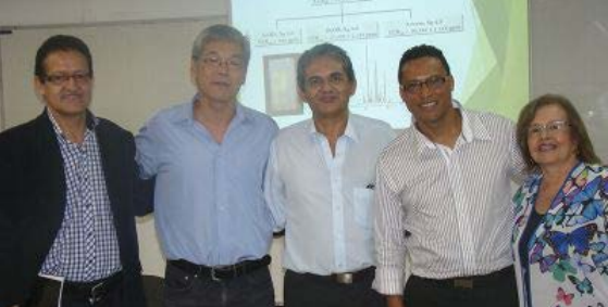 Harlen Gerardo Torres Castañeda, después de sustentar su tesis doctoral.
