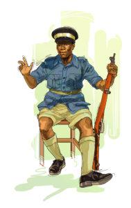 Uno de los primeros éxitos de los cubanos en el continente africano fue cuando un reclutador cubano observó como un zanzibareño llamado John Okello.