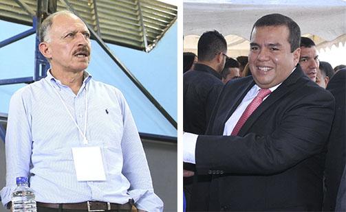 Temístocles Ortega, ex gobernador y Oscar Campo, actual mandatario, fueron incluidos en un posible proceso de investigación por caso de corrupción en Indeportes.