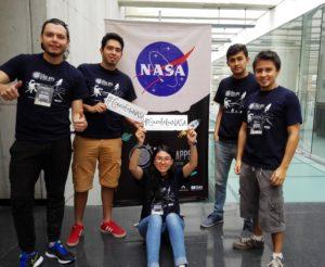 El reto del Space App Challenge era usar los recursos de la NASA, como sus satélites y la información que poseen, por eso el equipo escogió resolver el problema de la contaminación en el concurso Space App Challenge de la NASA. Foto: ClusterCreaTic