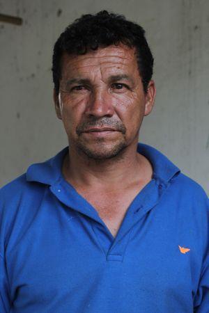 Rodrigo Ortega, enjalmador caucano.