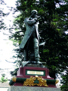 Escultura en bronce del Frances Charles Raoul Verlet-Popayán, 1910, Foto- Diego Tobar