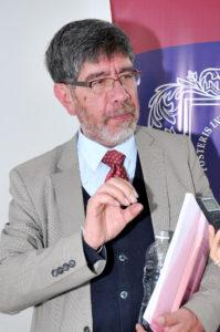 Germán Rey Beltrán, doctor en Psicología por la Universidad Complutense de Madrid, investigador en áreas de comunicación, cultura, gestión cultural e industrias culturales. /Fotografía: Dairo Ortega